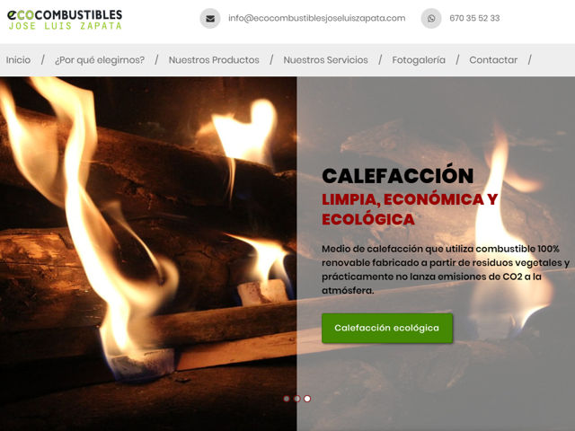 Web Ecocombustibles