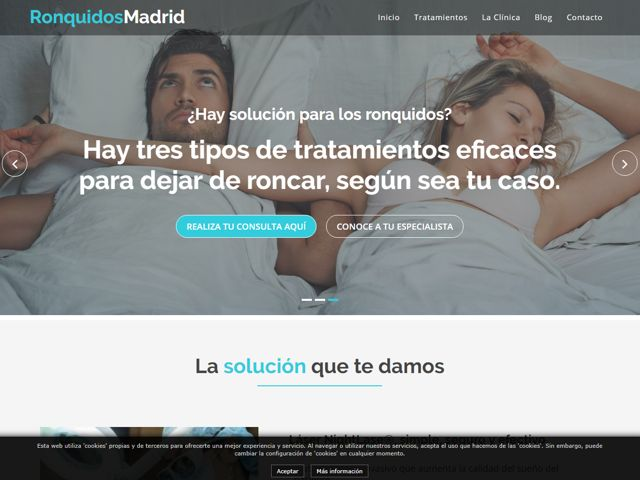 Web Ronquidos Madrid