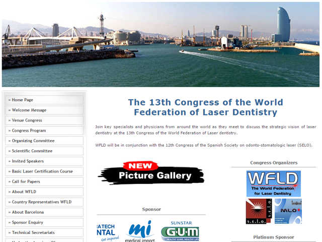 Web World Federation for Lasers Dentistry (WFLD) 2012